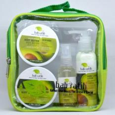 Bali Ratih Paket Body Scrub Body Butter Body Lotion Body Mist Free Plastic Pouch Avocado Bali Ratih Diskon 40