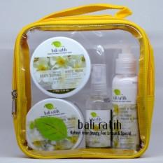 Harga Bali Ratih Paket Body Scrub Body Butter Body Lotion Body Mist Free Plastic Pouch White Musk Yang Murah Dan Bagus