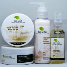 Bali Ratih - Paket Perawatan Tubuh Lengkap - Milk By Sekar Jagat Bali.