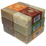 Bali Soap Fragrant Oil Bar Soap 6 Pcs 100G Asli