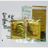 Jual Bamboo Gold Foot Patch New Original 20 Pasang Koyo Penyerap Racun Kinoki Baby Hanaka Original