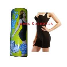 Harga Bamboo Sliming Suit Kaleng Black Size S M Asli