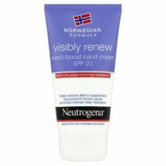 Harga Banting Harga Neutrogena Visibly Renew Elasti Boost Hand Cream Spf 20 With Collagen Bagus Merk Multi