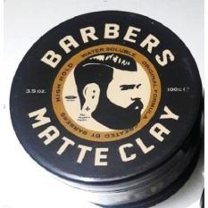 Jual Beli Barberpomade Matte Clay Matt Waterbased Strong Hold 3 5Oz Free Sisir Dki Jakarta
