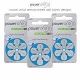 Jual Baterai Alat Bantu Dengar Powerone P675 Mercury Free Hearing Aid Battery Powerone Murah
