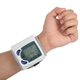 Spesifikasi Beau Digital Lcd Wrist Monitor Tekanan Darah With Heart Beat Rate Pulse Ukur Lengkap