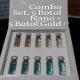Beli Beautee Serum Nano Scar 5 Botol 24K Gold 5 Botol Murah
