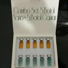 Spesifikasi Beautee Serum Nano Scar 5 Botol Caviar 5 Botol Lengkap