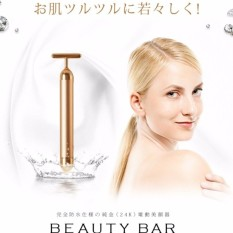 Beauty Bar 24K Golden Pulse Facial Massager   - intl