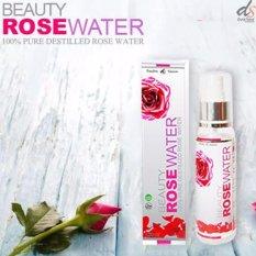 Beauty Rose Water (BRW) Serum Wajah Semprot BPOM - 1 Botol