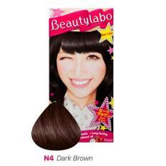 Beautylabo Hair Color N4 Dark Brown - Pewarna Rambut Hoyu Japan