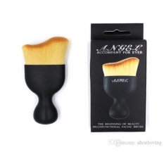 Beautylover Curved Brush - Foundation Blending Loose Powder Brush Kuas Make Up Untuk Bedak Foundation Shading Contouring