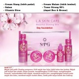 Jual Cream Spg Extra Strong Glowing Instan Day Padat Foundation Dapat Box Brosur Banten Murah