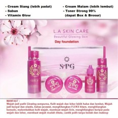 Review Cream Spg Extra Strong Glowing Instan Day Padat Foundation Dapat Box Brosur
