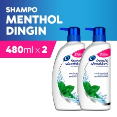 Beli Beli 1 Head Shoulders Sampo Cool Menthol 480 Ml Gratis 1 Del Cicil