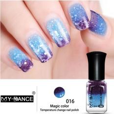 Spek Bellamall Temperature Change Nail Polish Salon Diy Nail Art Makeup For Lady 30 Colors Intl Tiongkok