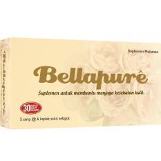 Bellapure Collagen Suplemen Kulit 1 Box isi 30 Kapsul