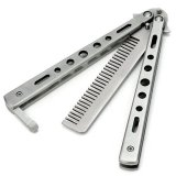 Toko Benchmade Balisong Butterfly Comb Silver Terlengkap Di Indonesia