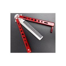 BENCHMADE COMB RED (MERAH) BUTTERFLY COMB / SISIR PISAU