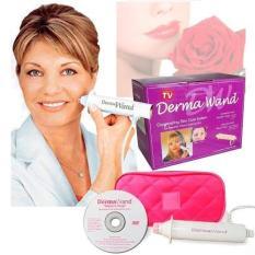 TEBE - Best Seller Dermawand Skin Care Setrika Penghilang Keriput Derma Wand Komedo Pengencang Kulit Anti Aging - 1 Set