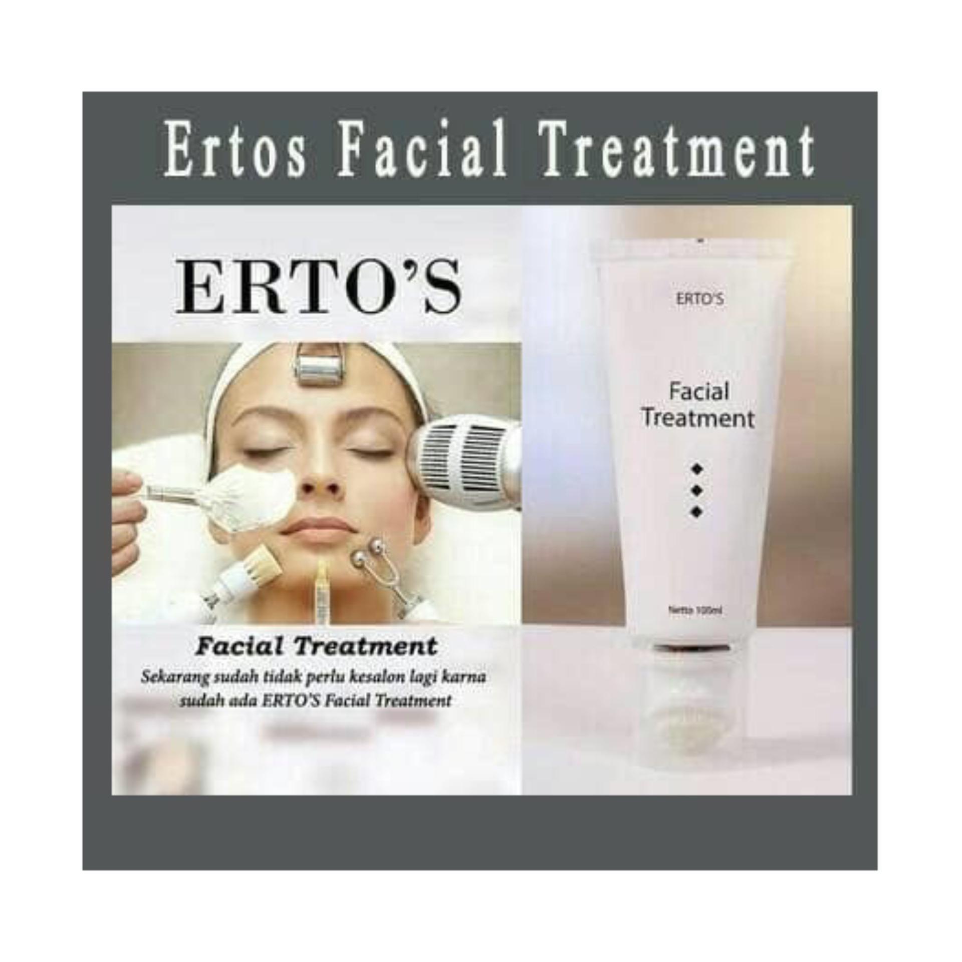 Beli Ertos Facial Treatment 100ml Original Bpom Facian Membantu Kulit Tampak Lebih Cerah Best Seller 100 Ml