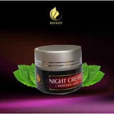 BEST SELLER Royalty Whitening Night Cream Pemutih Wajah Aman dan Efektif ASLI 100% ORI - Memutihkan