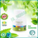 Spesifikasi Best Seller Tianshi Zinc Capsules Penambah Berat Badan Menambah Nafsu Makan Dan Nafsu Malam By Official Distributor Tiens Fa Herbal Murah