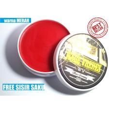 Best seller !!! Ware Vredes - Pomade Beeswax - Aroma Vanilla - Glossy - Free Sisir Saku - 100 Gram