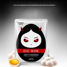 Bestprice-Lembut Face Egg Mask Memupuk Pelembab Freshing Kecantikan Melembabkan Makeup Patch-Intl