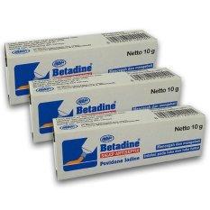 Spesifikasi Betadine Salep 10 Gr 3 Tube Betadine Terbaru