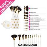 Review Bh Cosmetics Dot Collection 11 Piece Brush Set White Bh Cosmetics Di Dki Jakarta