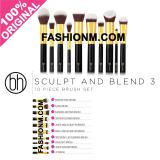 Obral Bh Cosmetics Sculpt And Blend 3 10 Piece Brush Set Murah