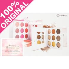 Model Bh Cosmetics Shaaanxo 18 Color Eyeshadow Lipstick Palette Terbaru