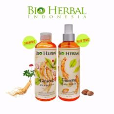 Toko Bio Herbal Ginseng Paket Shampo Hair Tonic Mengatasi Ketombe Dan Kerontokan Di Jawa Barat
