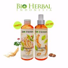 Toko Bio Herbal Paket Shampo Dan Hair Tonic Bio Herbal Shampo Ginseng Bpom Ginseng Hair Tonic Bio Herbal