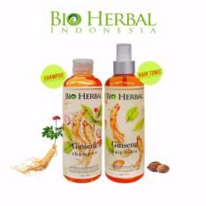 Spesifikasi Bio Herbal Paket Shampoo Hair Tonic Lengkap