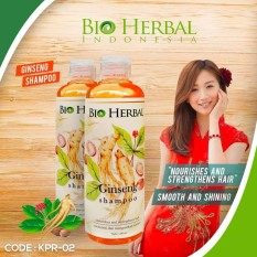 Bio Herbal Shampo Bpom Ginseng Shampoo 250ml - KPR-02