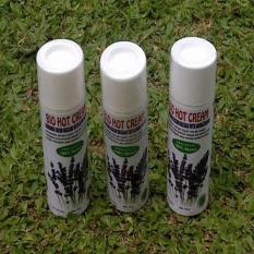 Jual 3 Pcs Bio Hot Cream Sumbawa Cream Massage With Lavender Aromatherapy Original