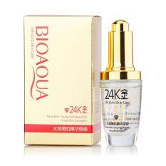 Ongkos Kirim Bioaqua 24K Gold Skin Care Original Serum Wajah Emas 24K Anti Aging Wrinkle Whitening Moisturizing Di Jawa Barat
