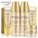 Review Terbaik Bioaqua 5Pcs Face Care Cream Skin Care Set Travel Anti Aging Whitening Moisturizing Wrinkle Lift Firming Snail Cream Natural Beauty Intl