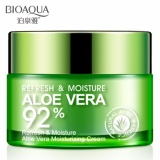 Bioaqua Aloe Vera 92 Original Serum Wajah Essence Soothing Gel Krim Wajah Anti Kerut Anti Penuaan Whitening Day Cream 50Gr Bioaqua Diskon