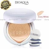 Jual Cepat Bioaqua Bb Cream Air Cushion Bedak Wajah With Spf50 Krim Bb Cushion Dengan Tabir Surya Menyejukan Kulit Ivory White