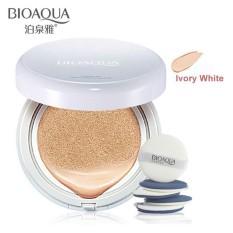 Bioaqua BB Cream Air Cushion Bedak Wajah with SPF50++ Krim BB Cushion Dengan Tabir Surya Menyejukan Kulit - Ivory White