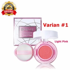 Varian 01 [Light Pink] - Bioaqua Blush On Cushion Smooth Muscle Flawless - Perona Pipi