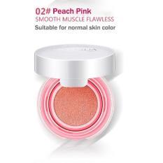 Bioaqua Blush On Cushion Smooth Muscle Flawless#2-Peach Pink
