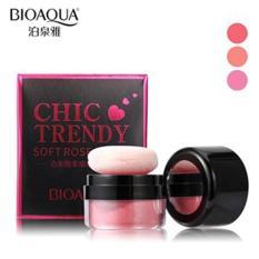 Bioaqua Chic Trendy Soft Rose Blush On Powder - Perona Pipi #01 - 4gr