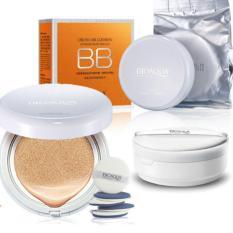 Review Bioaqua Cream Air Cushion Extreme Bare Make Up Bb Spf 50 Multi