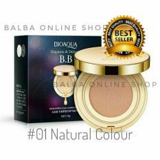 Toko Jual Bioaqua Exquisite And Delicate Bb Cream Air Cushion Pack Gold Case Spf 50 01 Natural