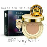 Bioaqua Exquisite And Delicate Bb Cream Air Cushion Pack Gold Case Spf 50 02 Ivory White Indonesia