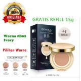 Bioaqua Exquisite And Delicate Bb Cream Air Cushion Pack Gold Case Spf 50 Foundation Bb Gold Free Refill Promo Beli 1 Gratis 1